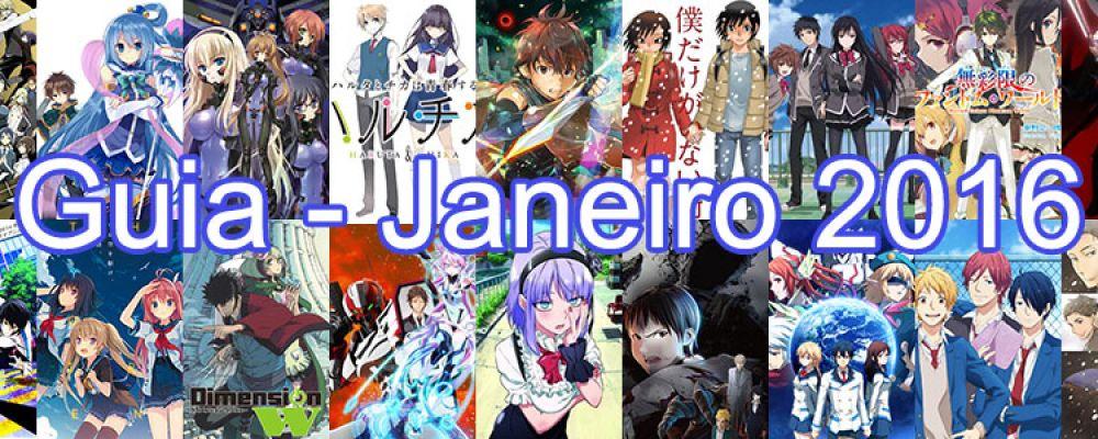 Animes da Temporada Cover Image