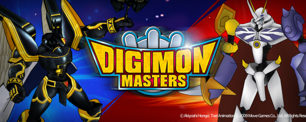 Digimon Masters Online Cover Image