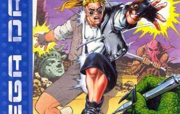 RetroReview 02-Comix Zone-Para dentro dos quadrinhos !